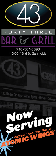 Bar 43 sports bar in Sunnyside NY