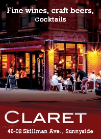 Claret Wine Bar Sunnyside