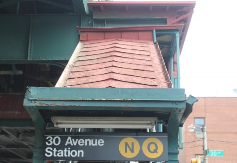 The N/Q stations in Astoria are going to be revamped--including the canopies.