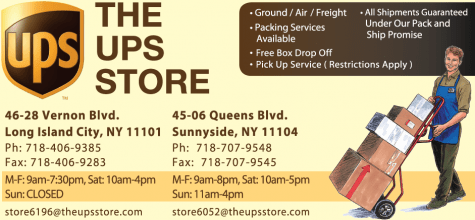 ups advertising sunnyside post-1