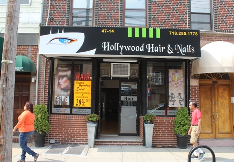 Hair and nail salon opens on vernon lic post for Vernon salons
