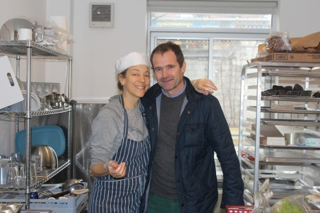 Faye Hess and Jonathan Stirling at 51st Bakery & Cafe