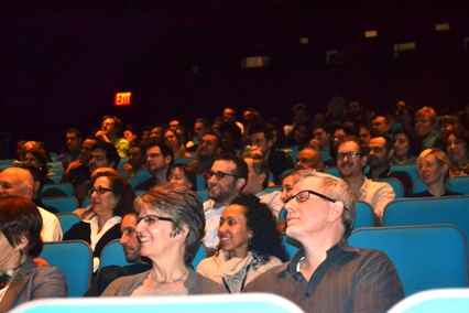 Audience at opening night 2013