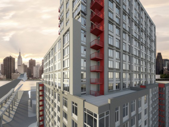 Apartment Building Long Island City high-end apartments in queens plaza building now available for