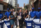 Van Bramer and the Doe Fund workers in LIC