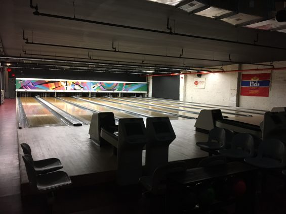 See Photos The Gutter Lic S New Bowling Alley Opens