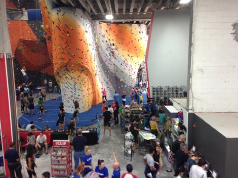 Children To Seasoned Climbers Tackle The Cliffs At Grand Opening Lic Post