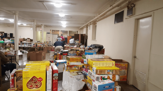 Lic Group Collects Almost 4 000 Pounds Of Donations For