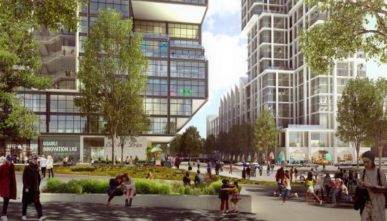 Plans For 1 000 Residential Units Office Spaces A School