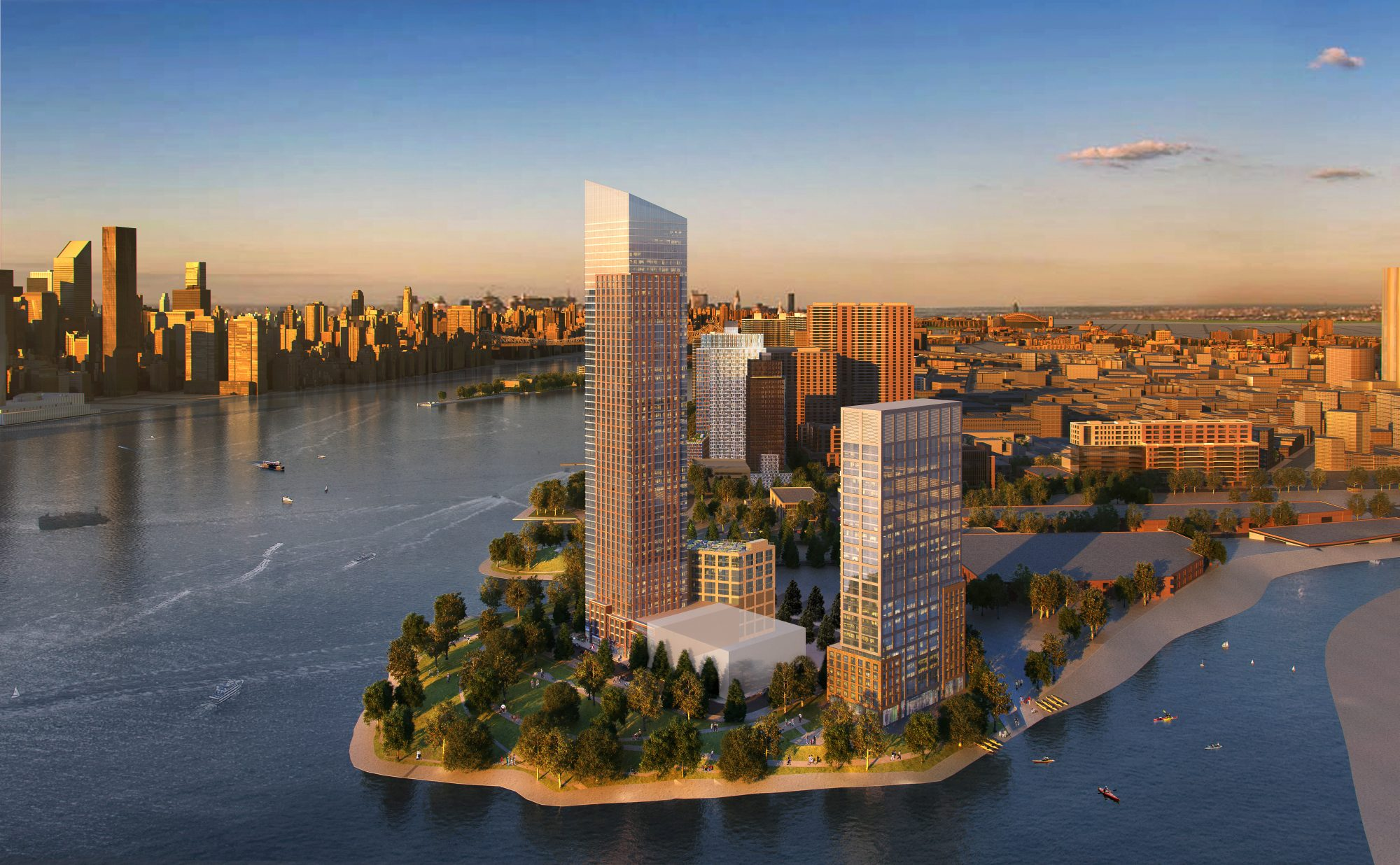 New Hunters Point South Towers Will Be 55 and 32 Stories, Construction to  Begin Next Year | LIC Post