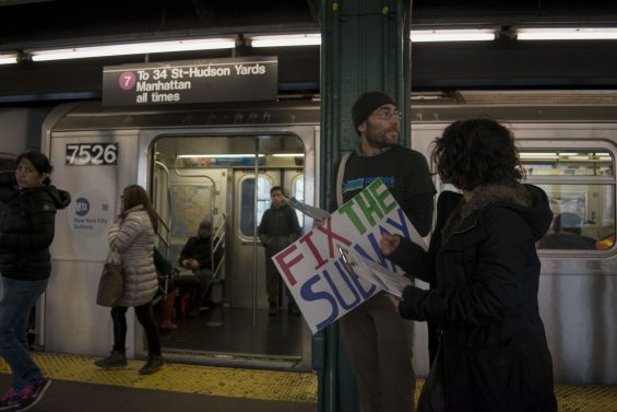 Activists Tell Frustrated Subway Riders To Direct Mta Complaints To