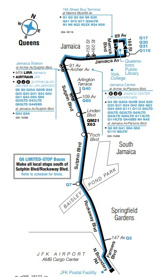 MTA to Boost Q69 Bus Service, Route Links Jackson Heights, Astoria Q Bus Map on
