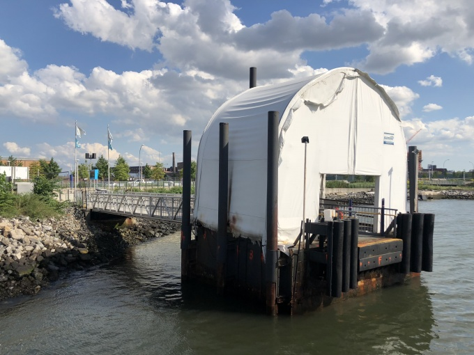 Hunters Point South Ferry Landing Out Indefinitely Shut