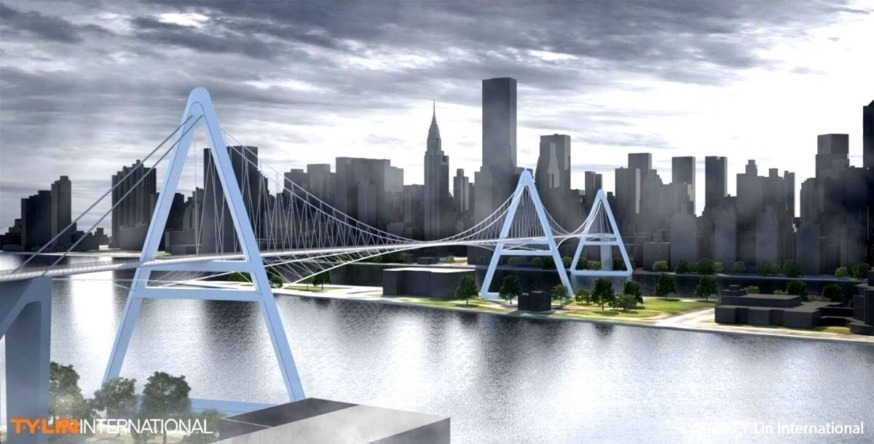 New Queens to Manhattan Bridge Proposed for Cyclists and Pedestrians   LIC Post